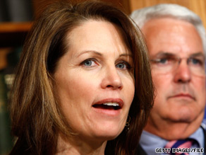 'The American people won't ever forget the irresponsible actions of this Administration and Democratic Majority,' Rep. Bachmann said Monday announcing her bill.
