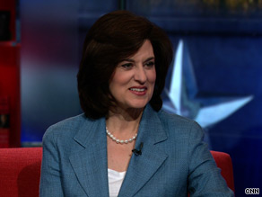Vicki Kennedy talks with John King Monday about her late husband's legacy and the passage of health care reform—a goal Sen. Edward Kennedy worked towards for nine terms in the U.S. Senate.