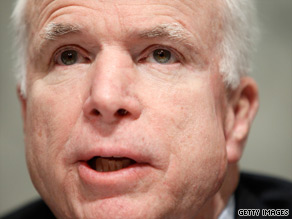 Sen. John McCain has introduced an amendment striking &#039;sweetheart deals&#039; for Democrats in return for their votes.