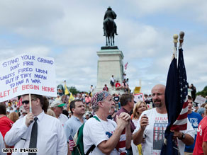 Tea Party movement voters could give a boost to Democrats in November.