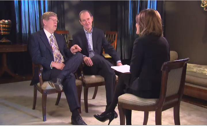 Gloria Borger interviews Ted Olson and David Boies.