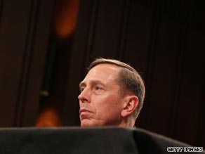 Petraeus made clear he will never be a candidate for president.