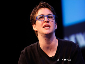 'I'm not running against Scott Brown,' Maddow wrote.