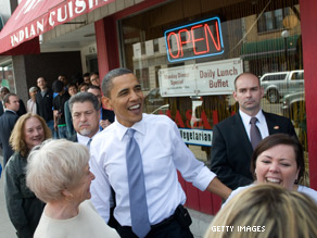 The public is split right down the middle on whether President Barack Obama should be re-elected.