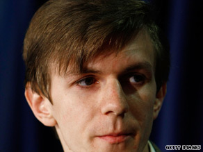 Conservative activist James O'Keefe is one of four men now charged with a misdemeanor for entering Sen. Mary Landrieu's office in Louisiana.