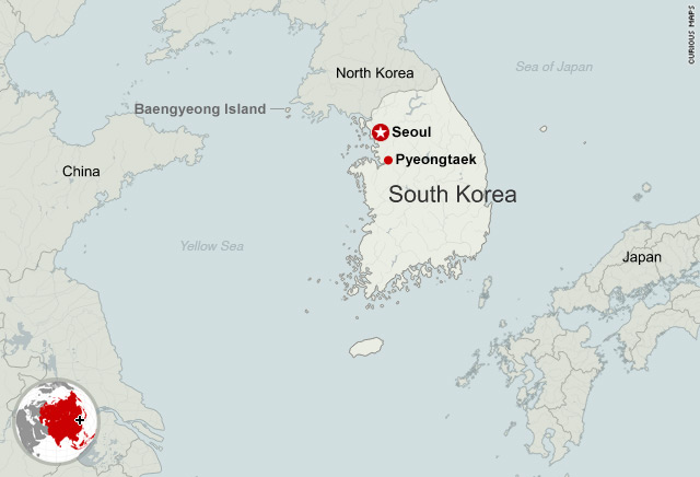 No signs of life in search of sunken south korean ship cnn map of search area gumiabroncs Choice Image