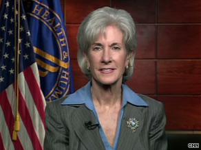 'We intend to follow the law,' HHS Secretary Kathleen Sebelius said Monday on CNN.