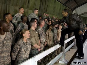 Obama is expected to return to the United States on Monday morning after a surprise visit to Afghanistan.