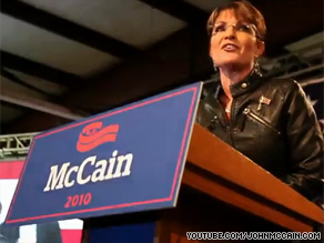 Sen. McCain&#039;s re-election campaign released a fast moving Web video Monday that features his former running mate Sarah Palin.