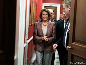 House Speaker Nancy Pelosi said Monday that Republicans used a campaign of fear to get senior citizens to oppose health care reform.