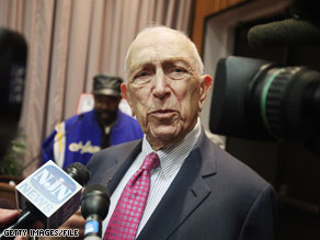 Sen. Frank Lautenberg is a leading critic of offshore drilling.