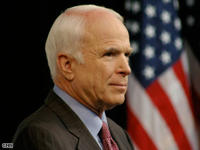 John McCain is featured in a new television ad from the DNC about financial regulatory reform.