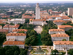 Two students say the admissions policy at the University of Texas at Austin violated the federal civil rights law.