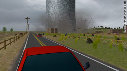 tornado simulator game
