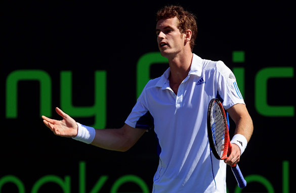 Andy Murray has admitted that he no longer enjoys playing tennis