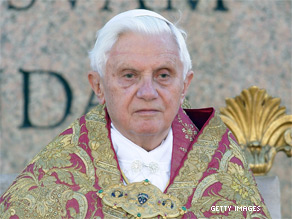 Critics want Pope Benedict and the hierarchy of the Catholic Church held accountable for the recent sex abuse scandals.