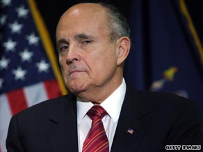 Guliani backed Rubio Monday in heated comments directed at Crist and Obama.