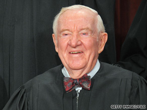 Justice John Paul Stevens is expected to announce by month's end whether he will retire.