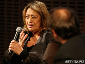 What do you want to ask Zaha Hadid.