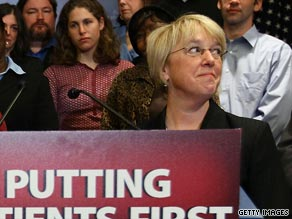 Police arrested a 64-year-old Washington state resident for allegedly making death threats against Democratic Sen. Patty Murray.