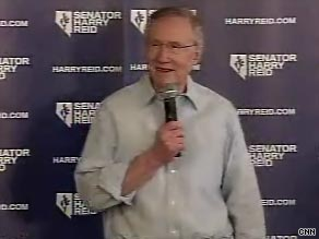 Reid took a dig at Sarah Palin as he launched his difficult reelection bid.