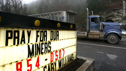 The explosion at West Virginia's Upper Big Branch coal mine killed at least 25 people.