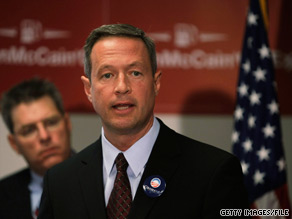 Martin O'Malley won the governorship of Maryland in 2006.
