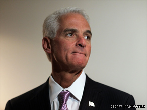  A spokesman for Gov. Crist said Thursday that Crist is &#039;proud to be a member of the Party of Abraham Lincoln, Teddy Roosevelt, and Ronald Reagan.&#039;