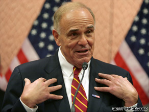 Pennsylvania Gov. Ed Rendell is term limited and prevented from running for re-election this year.