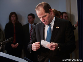 Former New York Gov. Elliot Spitzer told Fortune Magazine that he hopes his career in politics is not over.