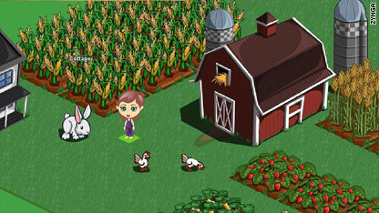 "Fake crops on Farmville - the ""free"" social game that's become a huge"