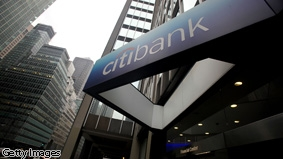 Citibank executives are testifying in front of Congress today.