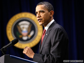 President Obama on Friday brushed off criticism from Sarah Palin that his agreement with Russia to restrict the use of nuclear weapons amounts to a dangerous sign of weakness.