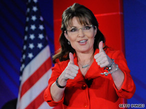 Sarah Palin's political action committee spent more money than it raised in the first three months of 2010.