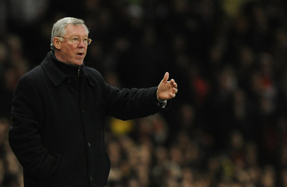 Alex Ferguson was enraged after Bayern Munich knocked Manchester United out of the European Champions League.
