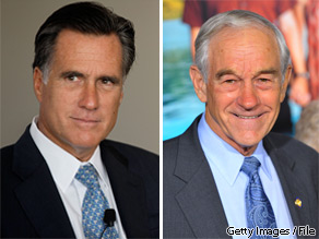 Former  Gov. Mitt Romney defeated Rep. Ron Paul by a single vote in the Southern Republican Leadership Conference's 2012 straw poll on Saturday.