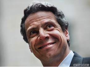 New York Attorney General Andrew Cuomo is ranked favorably in a new poll.