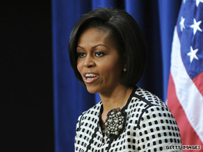 Michelle Obama will arrive in Mexico Tuesday evening.