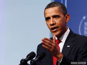 President Barack Obama said Tuesday that China was concerned about the global economic impact of tougher sanctions against Iran.