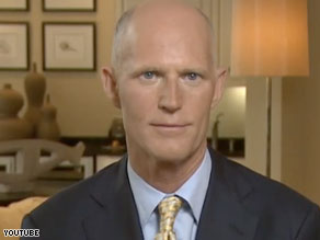 Rick Scott, the founder of Conservatives for Patients&#039; Rights, will challenge Attorney General Bill McCollum for the Republican nomination as a &#039;conservative outsider,&#039; an adviser said Tuesday.