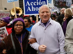 Stern, a top Obama ally, is stepping down from his post as head of the SEIU, according to reports.