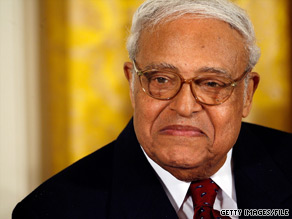 Civil rights leader Benjamin Hooks has died.