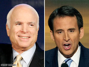 Minnesota Gov. Tim Pawlenty was among several Republicans on John McCain's vice presidential short list in 2008.