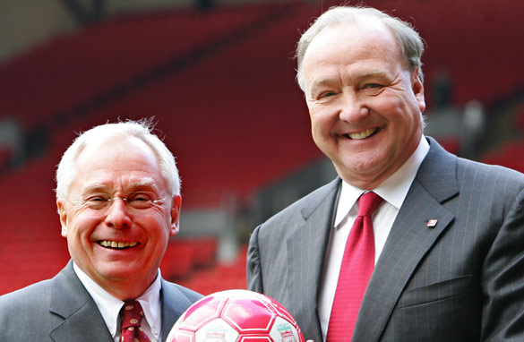George Gillett and Tom Hicks purchased Liverpool in 2007.