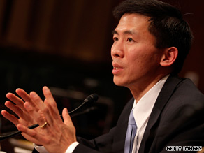 Goodwin Liu, a federal judicial nominee, faced intense scrutiny from Senate Republicans over his liberal views and his preparation for his confirmation hearings.