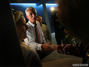 The executive director of the National Republican Senatorial Committee urged key GOP consultants Monday to persuade Florida Gov. Charlie Crist to forgo an independent bid for Senate if he withdraws from the Republican primary, CNN has learned.