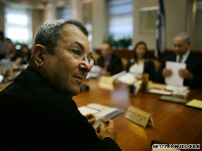 Israeli Defense Minister Ehud Barak expressed concern Monday over deteriorating relations with the United States.