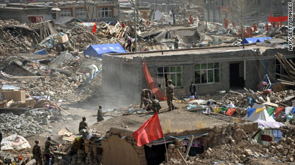 China quake death toll rises to nearly 2000 – This Just In - CNN ...