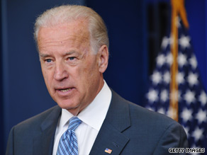 Vice President Biden said the current economic system in which the rich get wealthier while the middle class struggles to get by is politically unsustainable.