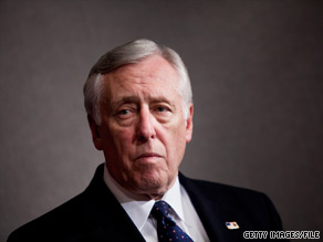House Majority Leader Steny Hoyer said Tuesday that he was 'extraordinarily disappointed' that House Democratic leaders killed a bill that would have given Washington, DC residents a voting representative in Conrgess.